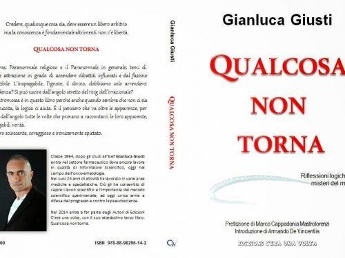 """Recensione di """"QUALCOSA NON TORNA"""" Autore Gianluca Giusti Editore """"C'era una volta edizioni"""" di Cinzia Tocci"""