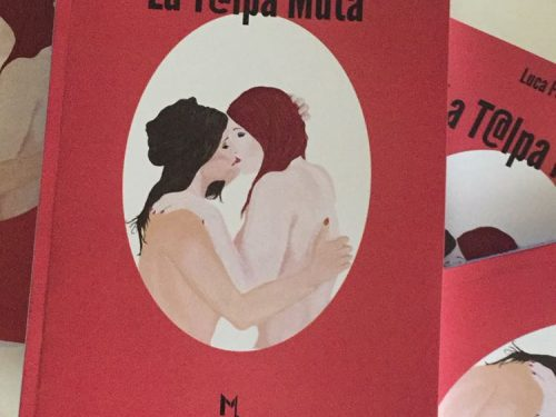 """Intervista di Rete8 libri a Luca Pompei e Lara Bellotti presentazione de """"La t@lpa muta"""""""