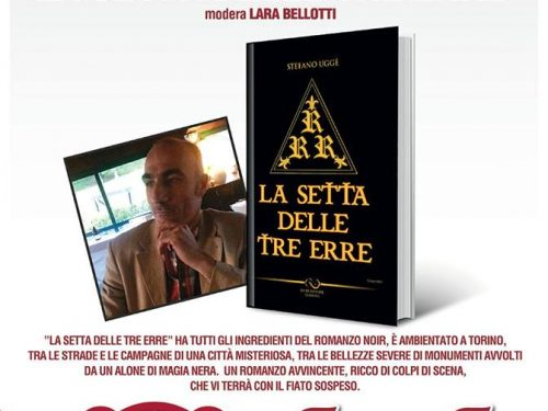 """Evento in programma: Presentazione de """"La setta delle tre erre"""" 19 Maggio 2017 con Giulia Segreti e Barone Mark Kheel"""