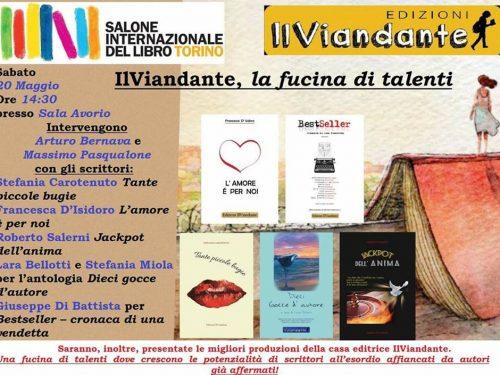 News eventi! Ed. Il Viandante 10 gocce d'autore al Salone del Libro del libro Torino