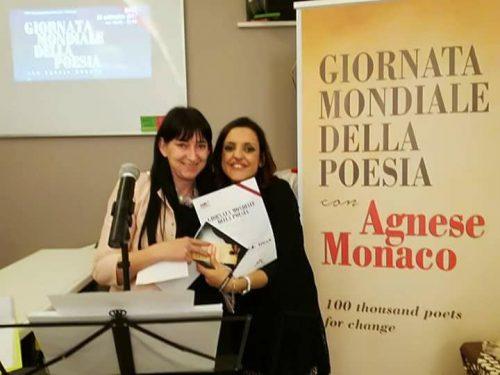 Premiazione Stefania Miola Giornata Mondiale delle Poesia